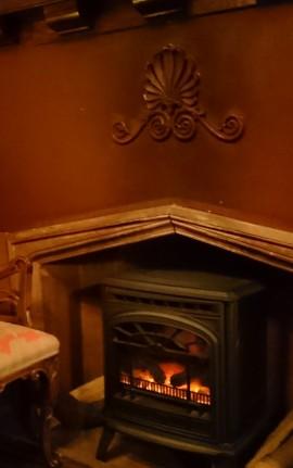 バー暖炉 (2)