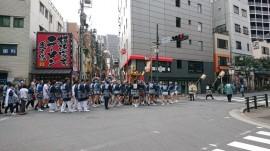 渋谷松濤お祭りお神輿
